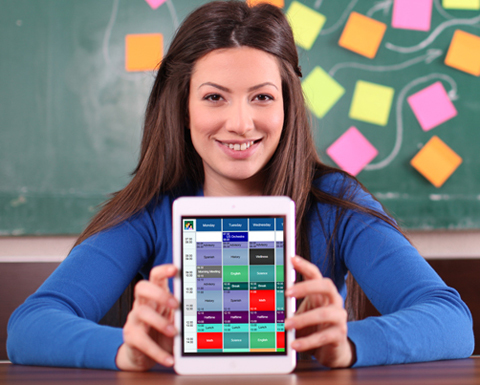 School scheduling software for iPad